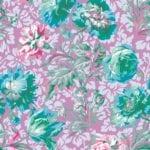 PWPJ090.Lavendar Baroque Floral Philip Jacobs