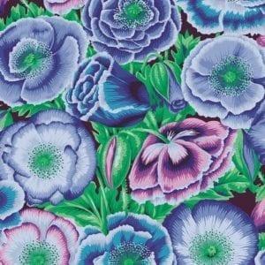 PWPJ095.Blue Poppy Garden Philip Jacobs