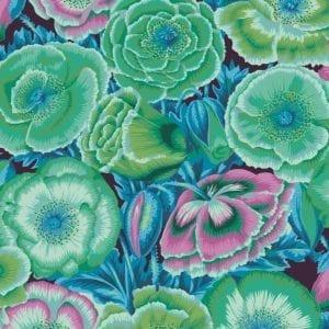 PWPJ095.Green Poppy Garden Philip Jacobs