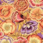 PWPJ095.Orange Poppy Garden Philip Jacobs