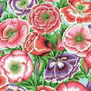 PWPJ095.Pink Poppy Garden Philip Jacobs