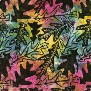 extrawide-tonga-B9229 Earth-Oakleaf Batiks