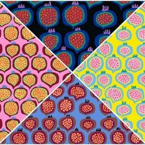 BM67 Pomegranate Brandon Mably Kaffe Fassett Collective