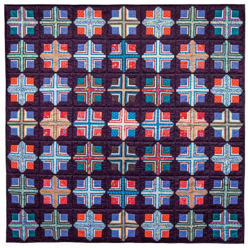 Badge of Honor Kaffe Fassett, Quilts in America