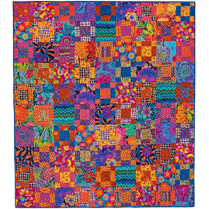 Dark9Patch kaffe fassett quilts in america
