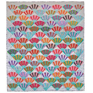Dotty Fans Kaffe Fassett, Quilts in America