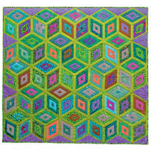 Green Boxes, Kaffe Fassett Quilts in America