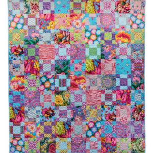 Pastel 9 patch Kaffe Fassett, Quilts in America