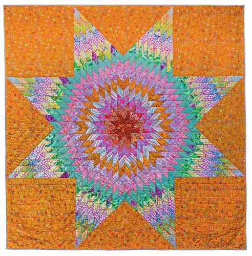 Starburst Kaffe Fassett, Quilts in America
