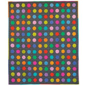 Technicolour Circles Kaffe Fassett, Quilts in America