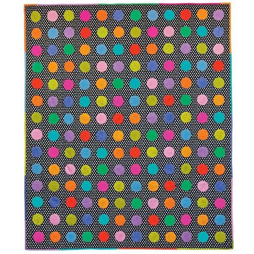 Technicolour Circles Kaffe Fassett, Quilts in America
