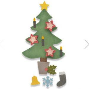 Sizzix 662969 Christmas Tree #2 Bigz Plus DieJPG