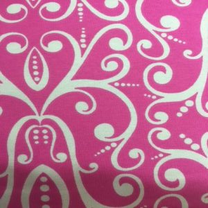 3758 Leaf Jersey Dress fabric