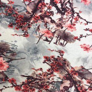 3761 jersey dress Japanese Garden