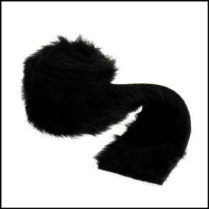 faux fur trim EH041 black groves & banks