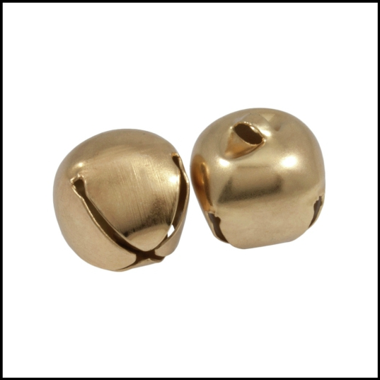 Jingle Bells CB040 gold 30mm