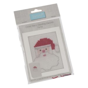 Card Kit Santa cross stitch GCS33
