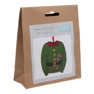 felt kit elf jumper gck054