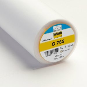 G785 Fusible Woven Interlining Soft Elastic in the Weft 4008983178514
