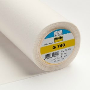 G740 brushed cotton woven interlining 4008983174127
