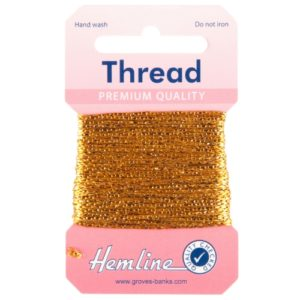 Glitter Thread H1002 Gold