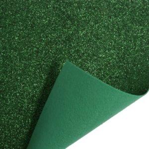 Glitter Felt Roll GFR02-12 1m x 45cm Green