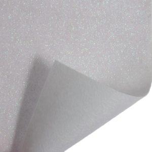 Glitter Felt Roll GFR02-02 1m x 45cm White
