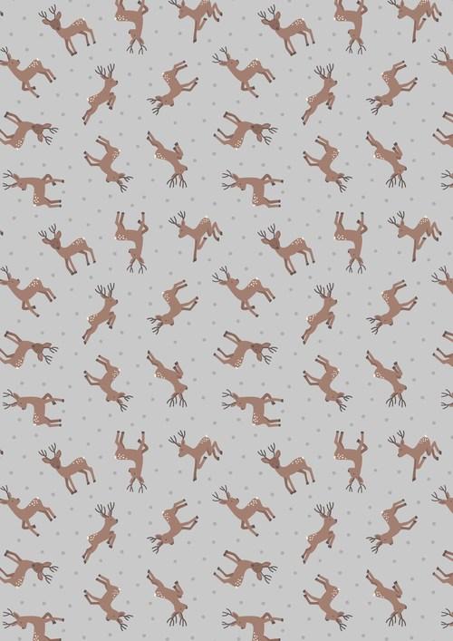 deer asm11-1 small things country creatures grey