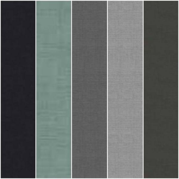 Linen Texture 5 Fat Quarter Pack 7