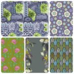 Lime 5 fat quarter pack English Summer