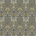 Montagu Fabric PWWM010Fawnx Snakeshead