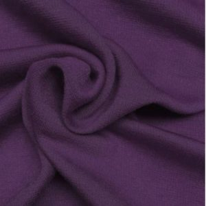 Ponte de Roma Jersey Dressmaking Fabric Purple