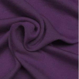 Ponte de Roma Jersey Dressmaking Fabric Purple