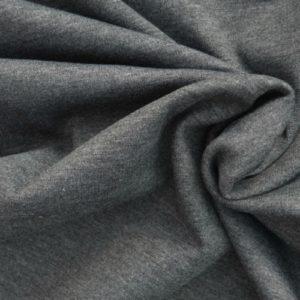 Ponte de Roma Jersey Dressmaking Fabric Marl Grey