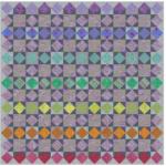 sunset colorway quilt along summer 2019 kaffetastic