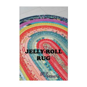RJD100 Jelly-Roll Rug Pattern
