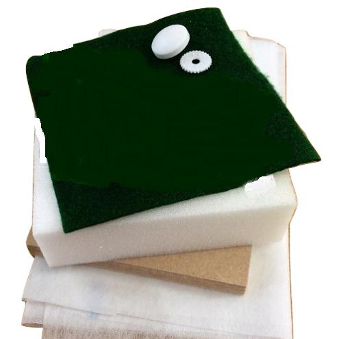 mini square tuffet