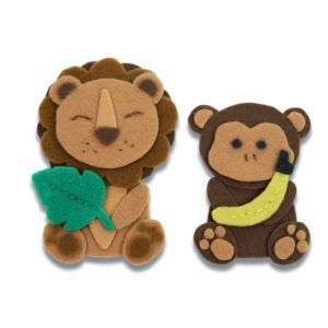 sizzix jungle animals 663493