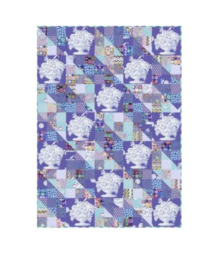 quilt kit stone-flower patches
