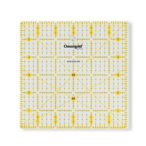 Universal ruler 6x6inch angle