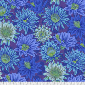 Cactus Flower PWPJ096.blue