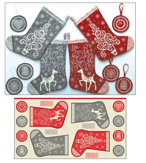 Scandi Medium Stockings 2109-1