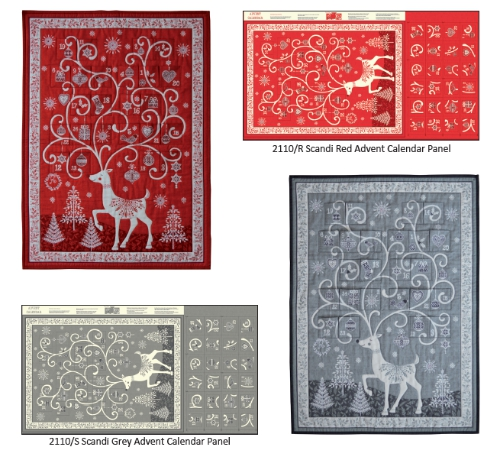Scandi 2019 Reindeer Advent Calendar