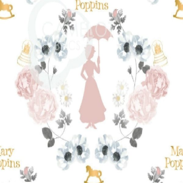 Mary Poppins 2464-01 Damask
