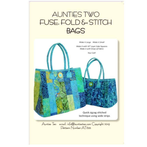 Fuse Fold & Stitch Pattern