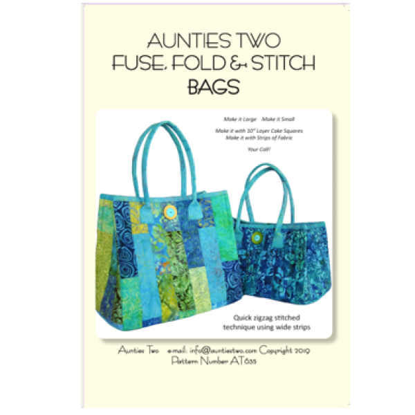 Fuse, Fold and Stitch Bag