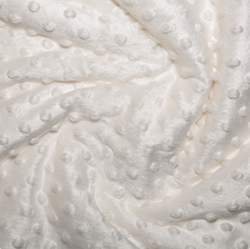 Dimple and Bubble Fleece Ivory