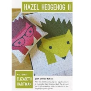 Hazel Hedgehog Elizabeth Hartman Pattern