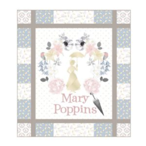 Mary Poppins Panel Quilt