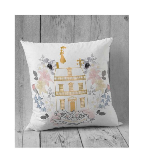 Mary Poppins Simple Pillow